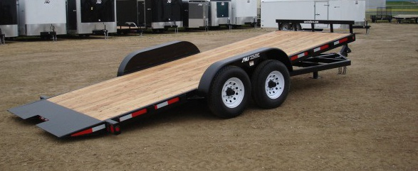 Full Tilt Equipment Deck Trailer Sws Truck Bodies Amp Trailers